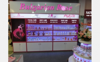 Opening ceremony of  a shop for Bulgarian cosmetics in Ho Chi Minh City