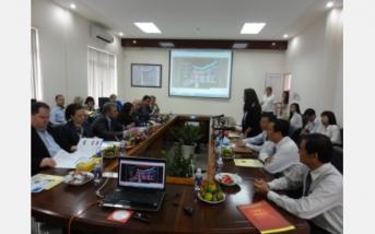 Chuyến thăm của Đoàn Chính phủ Bungari tại Khu Công nghiệp.