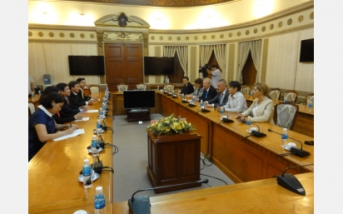A meeting between the Minister of Economy of the Republic of Bulgaria and the Chairman of the People's Committee of HCMC