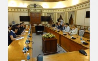Buổi gặp gỡ giữa ngài Bộ trưởng Kinh tế nước Cộng Hoà Bungaria và Chủ tịch Uỷ Ban Nhân Dân Thành phố Hồ Chí Minh
